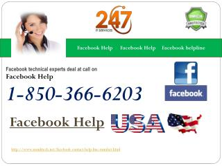 How much am I supposed to pay for the Facebook Help 1-850-366-6203?