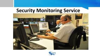 Security Monitoring Service - Suma Soft