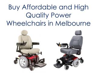 Power Wheelchairs In Melbourne