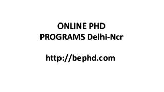 Online Phd Programs Delhi|Phd Distance Education|Online Doctoral Programs Delhi