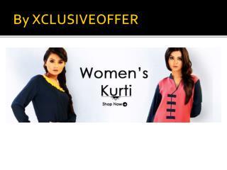 By Xclusiveoffer women kurti