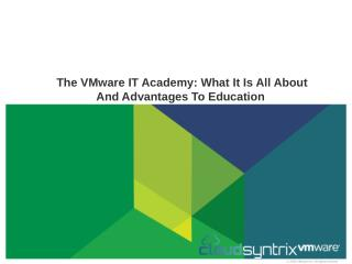 Vmware services provider overview