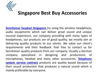 Singapore Best Buy Accessories