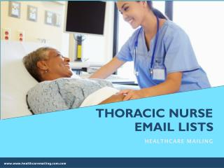 Thoracic Nurse Email Addresses
