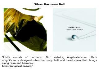 Silver Harmony Ball
