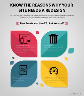 Know The Reasons Why Your Site Needs A Redesign