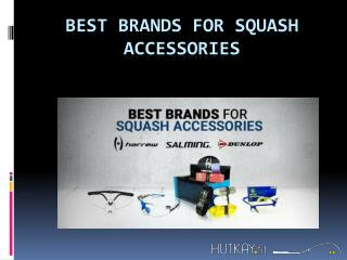 Best Brands For Squash Accessories