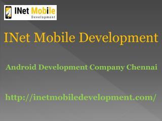 Android development company Chennai
