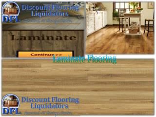 Buy laminate flooring at Discount Flooring Liquidators