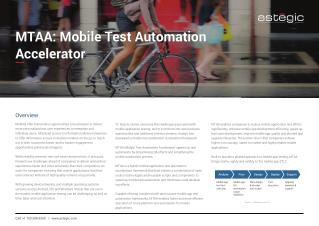 Mobile Test Automation Accelerator