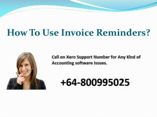How to use Invoice Reminders?