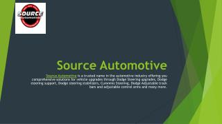 Some Best Source Automotive Products and Services
