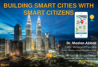 Building Smart Cities with Smart Citizens