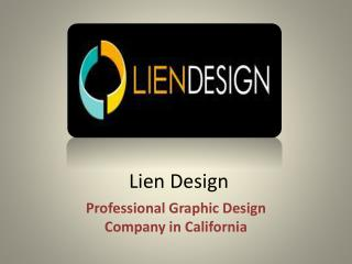 Lien Design – Professional Graphic Design Company in California