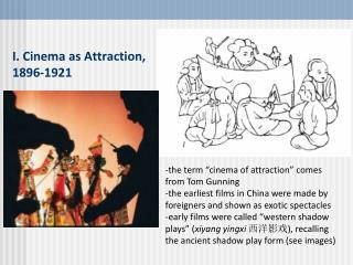I. Cinema as Attraction, 1896-1921
