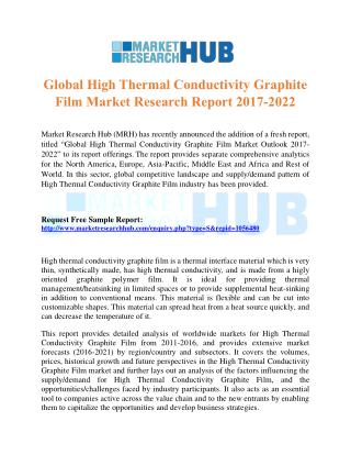 Global High Thermal Conductivity Graphite Film Market Research Report 2017-2022
