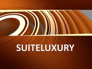 luxury hotel suites