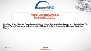 Allergy Diagnostics Market Confident That Better Testing For Food Allergies Can Boost Its Future Growth