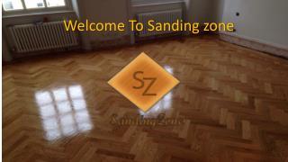 Sanding Wood Flooring Fulham