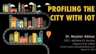 Profiling the City With IOT