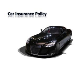 Find a Car insurance policy