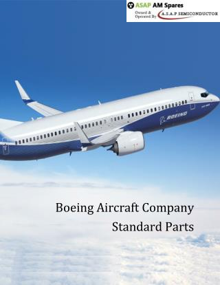 List of Boeing Aircraft Company Parts