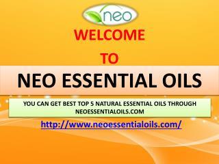 You can get best Top 5 Natural essential oils through Neoessentialoils.com