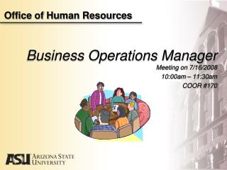 Office of Human Resources