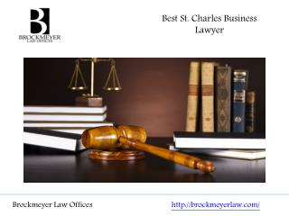 Best St. Charles Business Lawyer