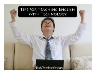 Survival Tips for Teaching English with Technology