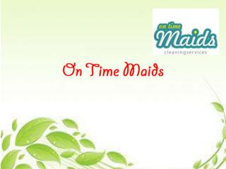 Cleaning Maids and Professional Cleaning Maids Dubai