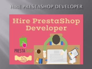 Hire Prestashop Developer