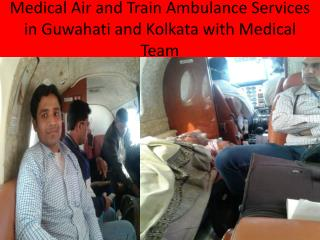 Low Price Air and Train Ambulance Services in KOlka