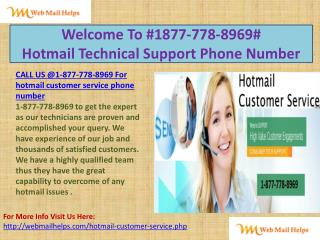 Recall USA Hotmail !1877.778.8969! Customer Service technical support Phone Number