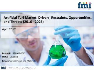 Artificial Turf Market : Key Growth Factors and Industry Analysis 2016-2026