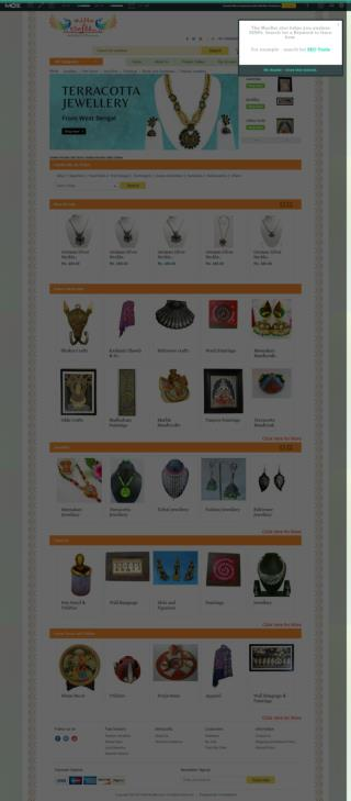 Online Handicrafts Store India