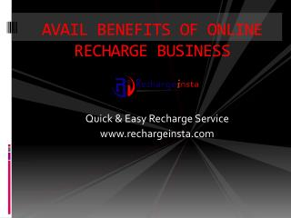 Online Recharging Services Involves Quite Simple and Easy Process.