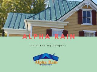 Make your Home Energy Efficient by Installing Metal Roofs