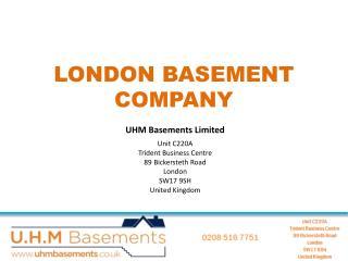 Outstanding Basement Companies London