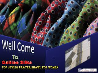 These Jewish Prayer Shawls are currently the Trend Setter!