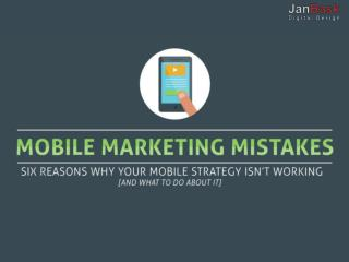 You Should Avoid Mobile App Marketing Mistake.