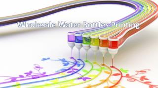 Buy water bottles at wholesale price from PhotoMugs.