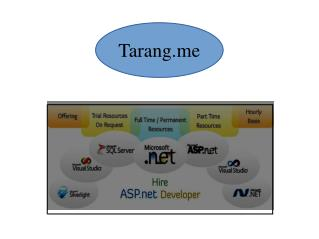 Hire C# Developer - tarang.me