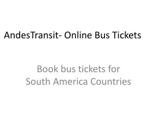 AnsedTransit- Online Bus Tickets Booking