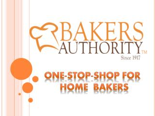 One-Stop-Shop For Home Bakers