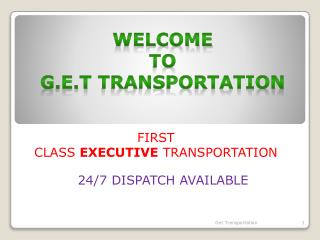 Affordable Houston Corporate Transportation Services