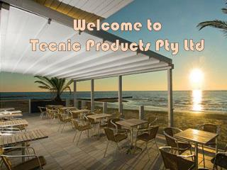 Explore Opening Fabric Roofs at Tecnic Products Pty Ltd