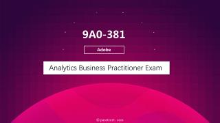 Passtcert Adobe 9A0-381 Exam Training Material