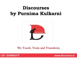 English Speaking Courses in Pune