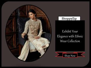 Elegant Ethnic Wear from ShoppyZip